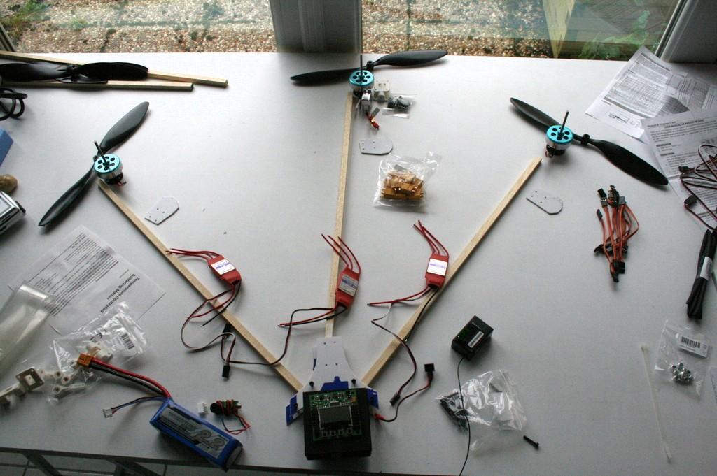 Tricopter – partie 3 – exploration électrique