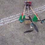 Tricopter – premiers «vol» de quelques secondes