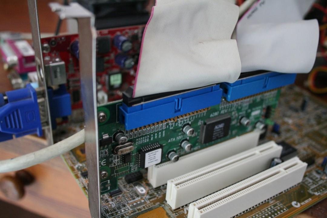 Extension PCI - IDE pour pouvoir monter à 7 lecteurs