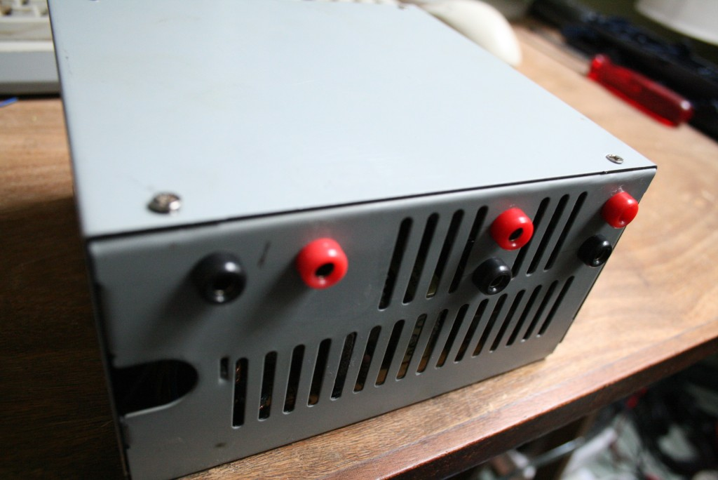 Construction d'une alimentation à tension variable à partir d'une alimentation ATX de PC