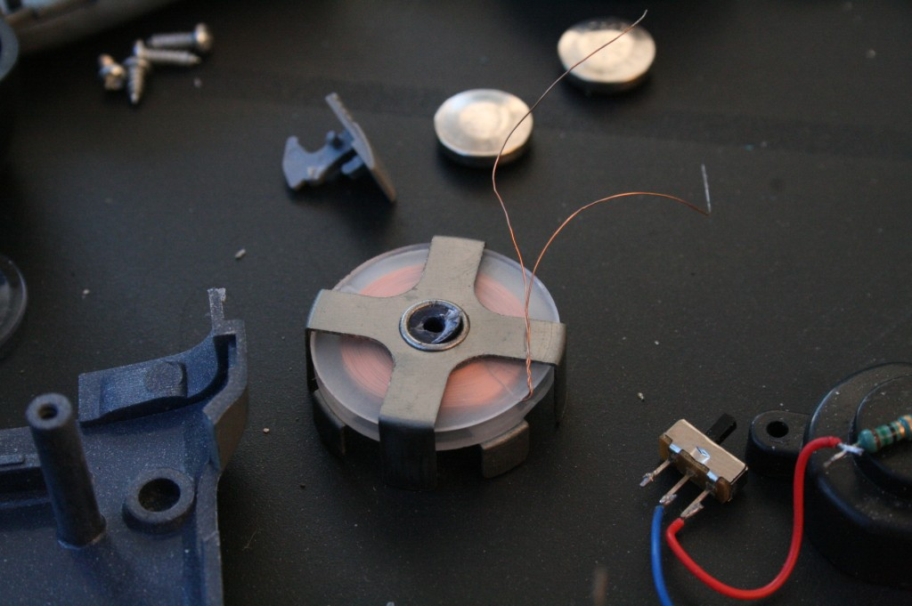 filament et interrupteur