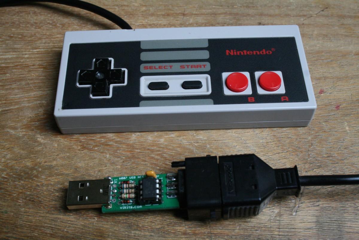 Manette NES – adaptateur USB