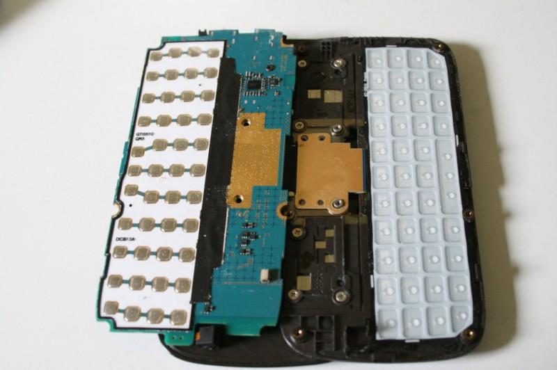 Samsung 551 clavier démonté