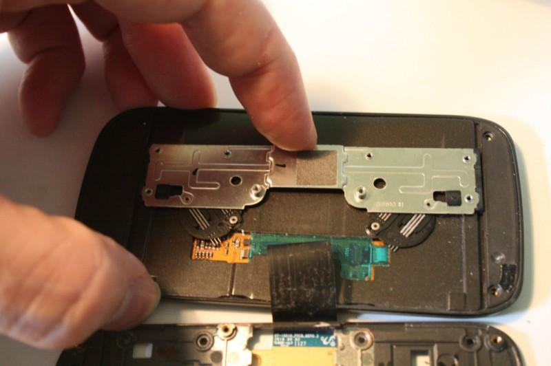 Samsung 551 mécanisme mécanique pour activer le clavier
