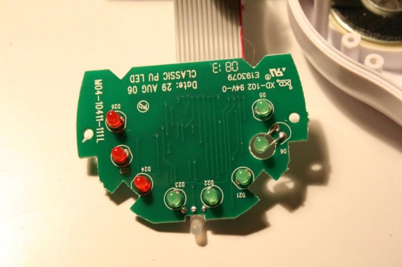 """Une des cartes """"périphérique"""" avec des LEDs"""