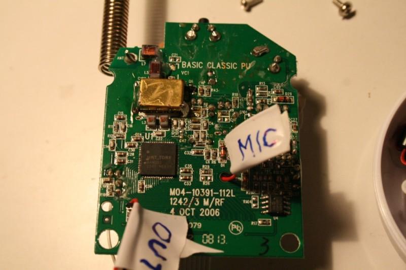 """Un micro-controlleur et un composant """"protégé"""""""