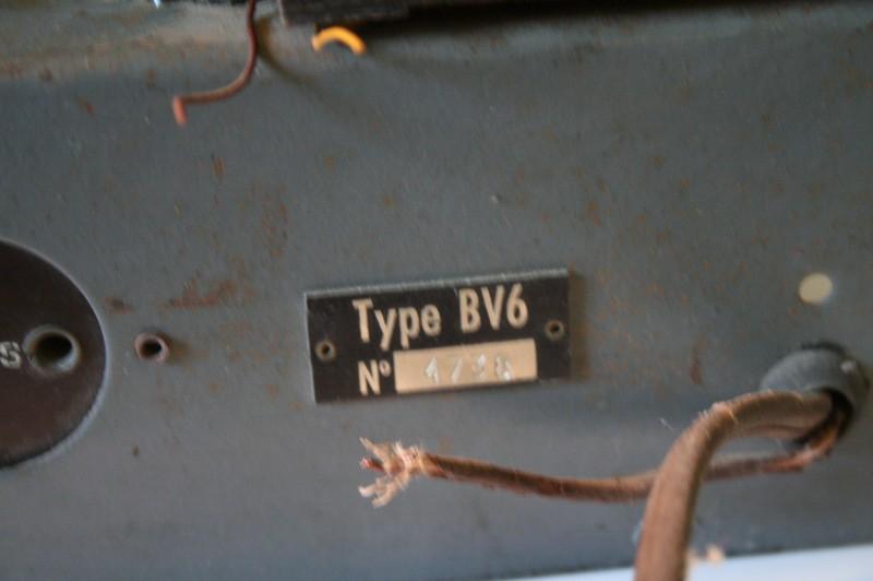 Radio de type BV6