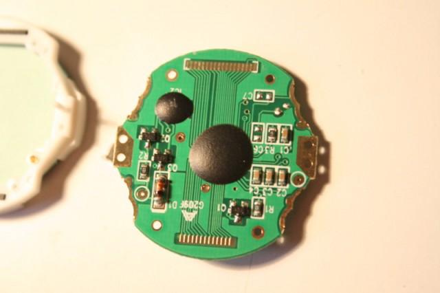 Démontage d'une montre Geonaute