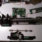 Démontage d'une imprimante scanner HP Deskjet 1510