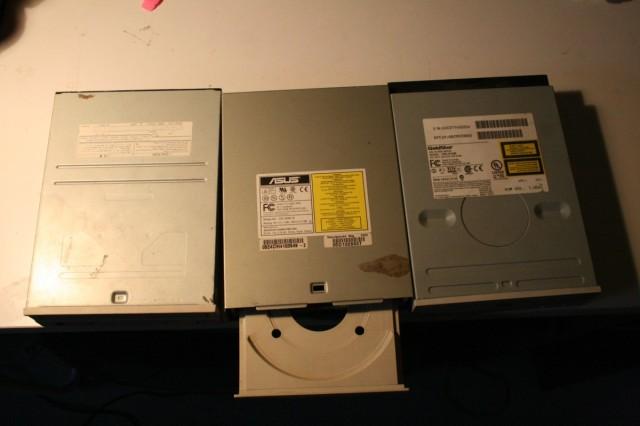 La chasse aux moteurs – démontage de lecteurs DVD
