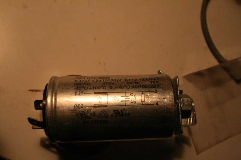 Gros capacitor