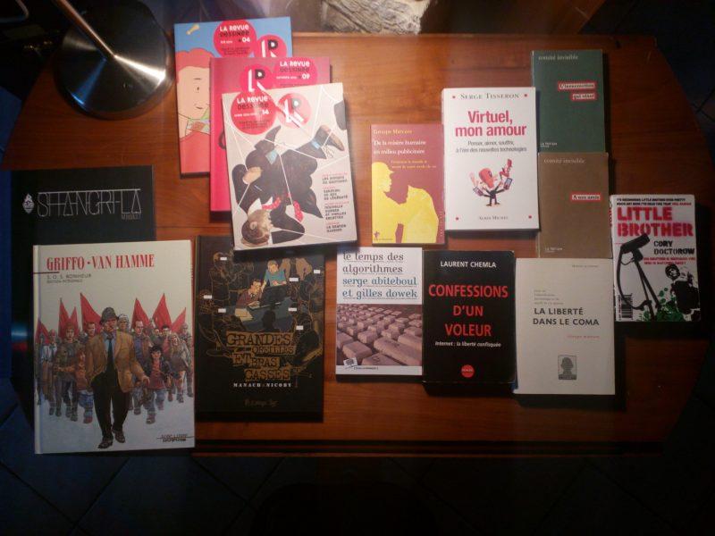 Quelques livres pour initier la discussion sur l'atelier vie privée