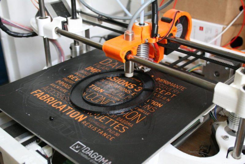 Impression en 3D avec du filament flex
